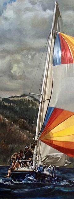 Sail Full of Sky Cathryne Trachok